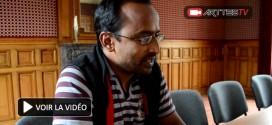Interview de Koumarane Valavane à La Rochelle (théâtre indien)