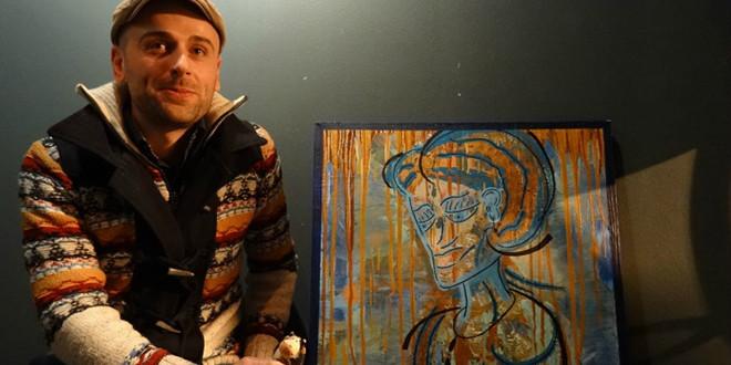 Mathieu Baralo, peintre autodidacte et passionné